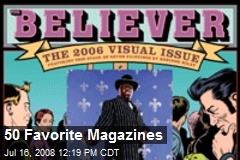 50 Favorite Magazines