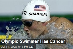 Olympic Swimmer Has Cancer