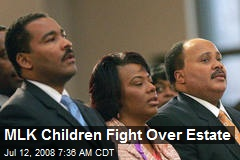 MLK Children Fight Over Estate