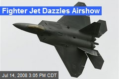 Fighter Jet Dazzles Airshow