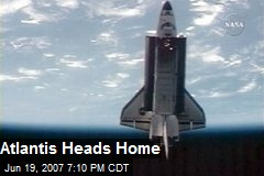 Atlantis Heads Home