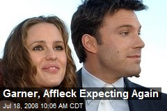 Garner, Affleck Expecting Again