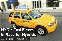 NYC's Taxi Fleets in Race for Hybrids