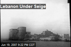 Lebanon Under Seige
