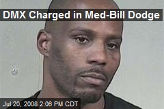 DMX Charged in Med-Bill Dodge