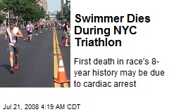 Swimmer Dies During NYC Triathlon