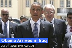 Obama Arrives in Iraq