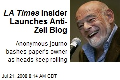 LA Times Insider Launches Anti-Zell Blog
