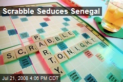 Scrabble Seduces Senegal