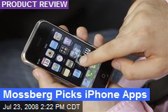 Mossberg Picks iPhone Apps