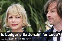 Is Ledger's Ex Jonzin' for Love?