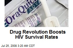 Drug Revolution Boosts HIV Survival Rates