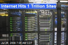 Internet Hits 1 Trillion Sites