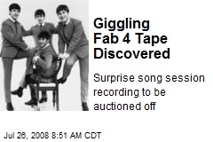 Giggling Fab 4 Tape Discovered