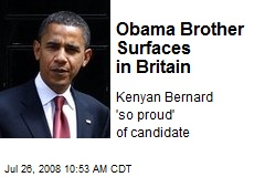 Obama Brother Surfaces in Britain