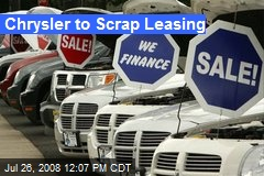 Chrysler to Scrap Leasing