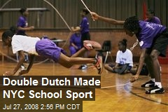 Double Dutch Made NYC School Sport