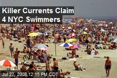 Killer Currents Claim 4 NYC Swimmers