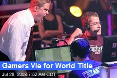 Gamers Vie for World Title