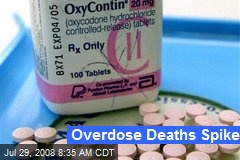 Overdose Deaths Spike