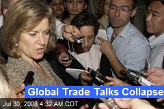 Global Trade Talks Collapse