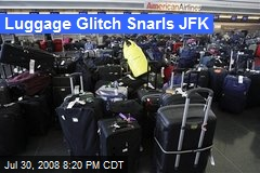Luggage Glitch Snarls JFK
