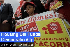 Housing Bill Funds Democratic Ally