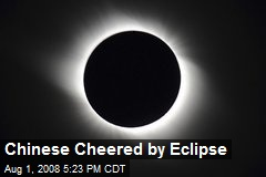 Chinese Cheered by Eclipse
