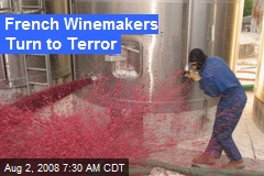 French Winemakers Turn to Terror