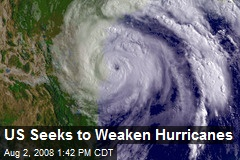 US Seeks to Weaken Hurricanes