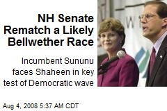 NH Senate Rematch a Likely Bellwether Race