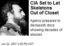 CIA Set to Let Skeletons Out of Closet