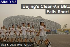Bejing's Clean-Air Blitz Falls Short