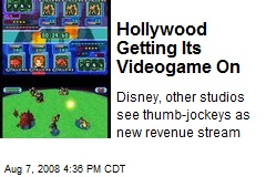 Hollywood Getting Its Videogame On