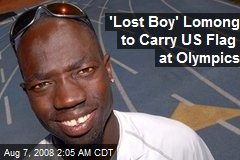 'Lost Boy' Lomong to Carry US Flag at Olympics