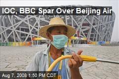 IOC, BBC Spar Over Beijing Air