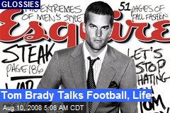 Tom Brady Talks Football, Life