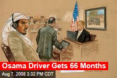 Osama Driver Gets 66 Months