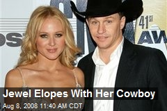 Jewel Elopes With Her Cowboy