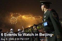 6 Events to Watch in Beijing