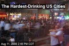 The Hardest-Drinking US Cities