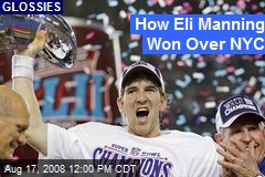 How Eli Manning Won Over NYC