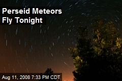 Perseid Meteors Fly Tonight