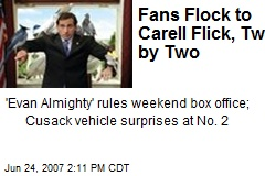 Fans Flock to Carell Flick, Two by Two