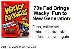 '70s Fad Brings 'Wacky' Fun to New Generation