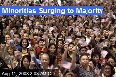 Minorities Surging to Majority