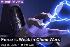Force is Weak in Clone Wars