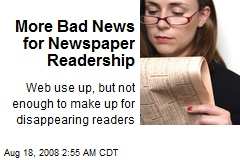 More Bad News for Newspaper Readership