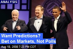 Want Predictions? Bet on Markets, Not Polls