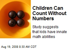 Children Can Count Without Numbers